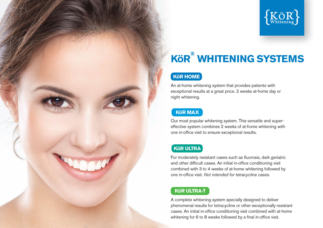 Kor Teeth Whitening at Ware Family Dentistry